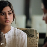 Sajal Ali Wallpaper from BEHADD Telefilm
