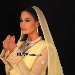 Veena Malik at Hero TV Astaghfar show Wallpaper