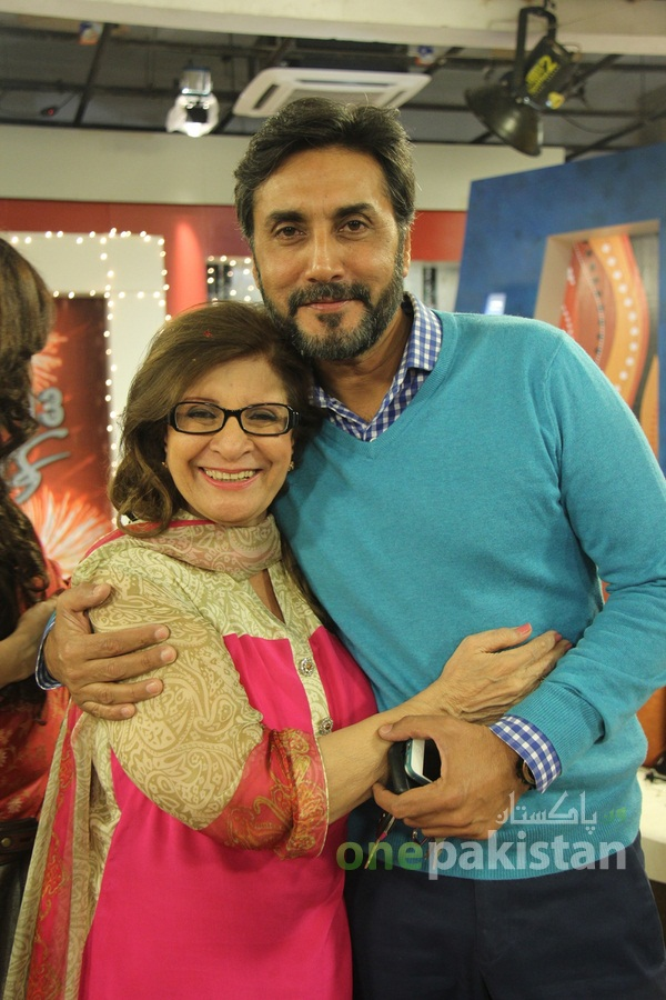 Adnan Siddiqui at HUM TV 8th Anniversary Celebration Party 494