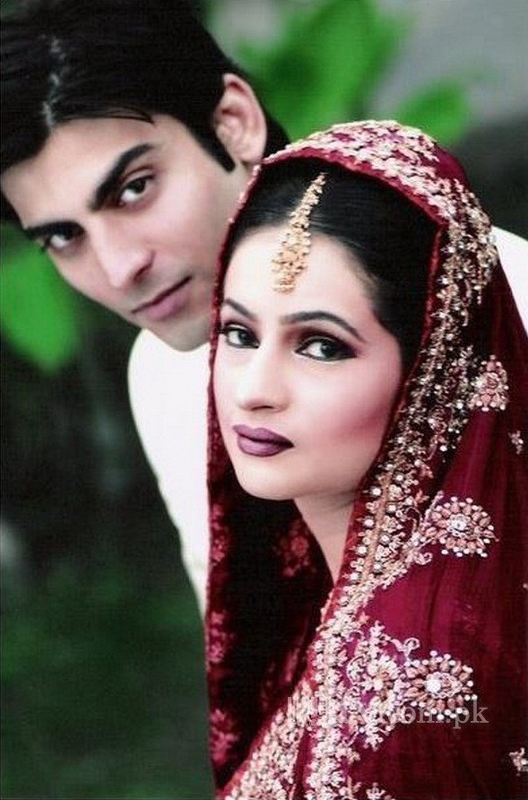 Fawad Khan Wedding Picture with wife Sadaf Khan 2 182