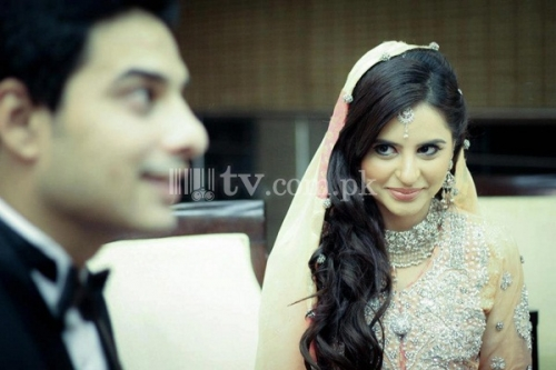 Fatima Effendi and Kanwar Arsalan Wedding Picture 8 90