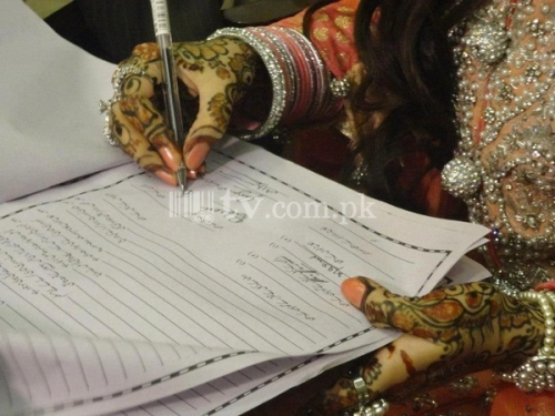 Fatima Effendi - Fatima Effendi and Kanwar Arsalan Wedding Picture 6