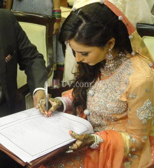 Fatima Effendi and Kanwar Arsalan Wedding Picture 4
