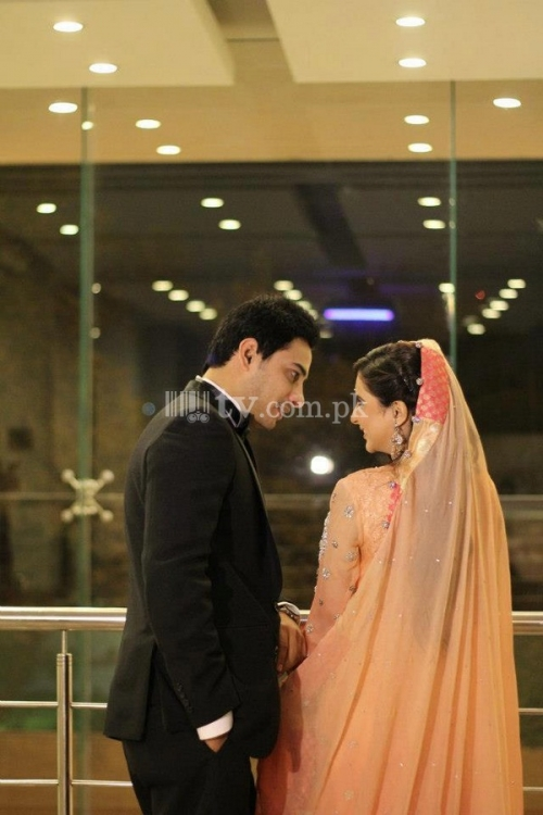 Fatima Effendi and Kanwar Arsalan Wedding Picture 3