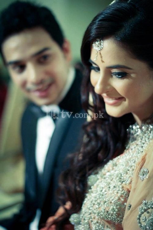 Fatima Effendi and Kanwar Arsalan Wedding Picture 1