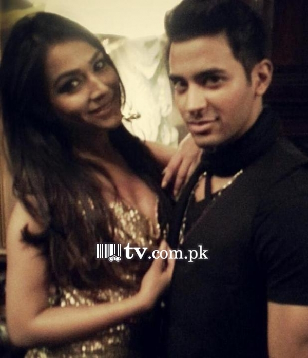 Humaima Malick with Abbas Hasan for Music Video 1600