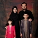 Aamir Liaquat Hussain with Wife and Kids Family
