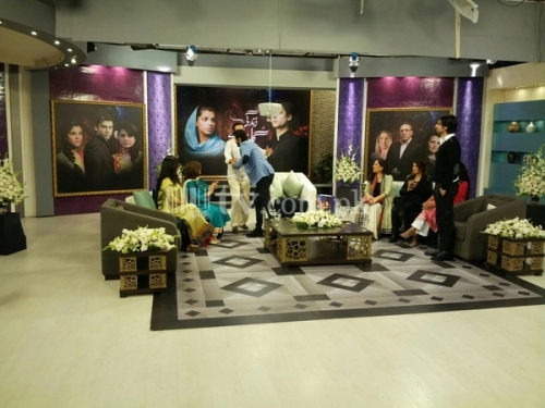 Zindagi Gulzar Hai Promotion on Jago Pakistan Jago Picture 15