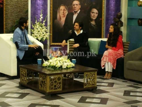 Zindagi Gulzar Hai Promotion on Jago Pakistan Jago Picture 11
