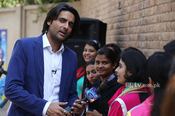 Mohib Mirza at Pakistan Idol Auditions in Multan 2013